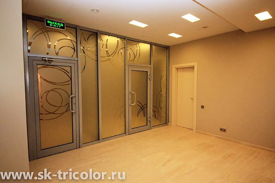 Ремонт офисов под ключ в Москве, капитальный и косметический